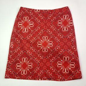 """Harold""""s Red Bandana Skirt"""